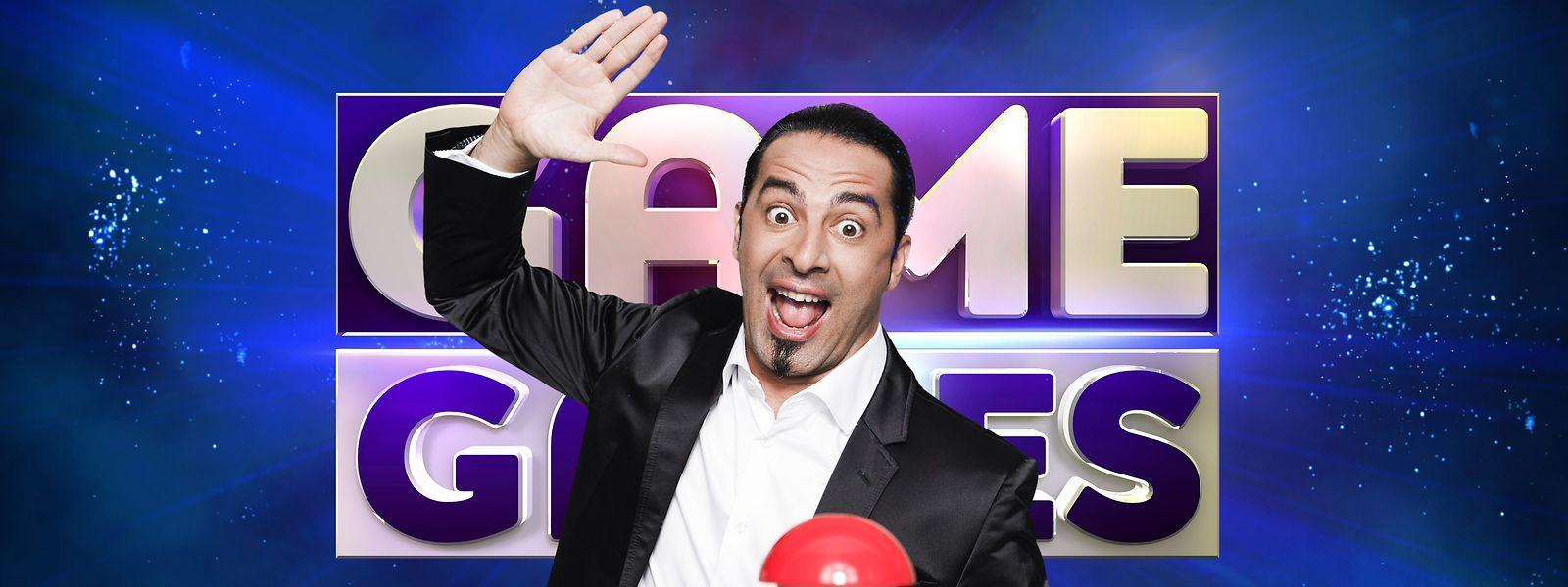 """Comedian Bülent Ceylan eröffnet mit seiner Show """"Game of Games"""" den SAT.1-Fun-Herbst."""