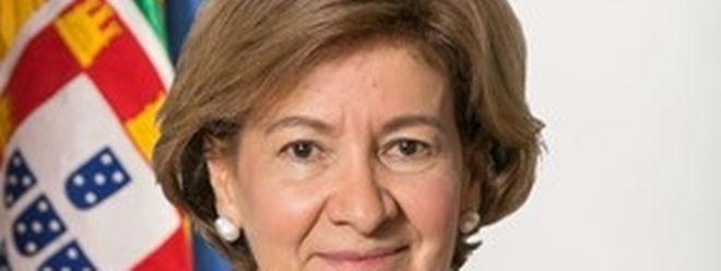 A secretária de Estado dos Negócios Estrangeiros e da Cooperação portuguesa, Teresa Ribeiro