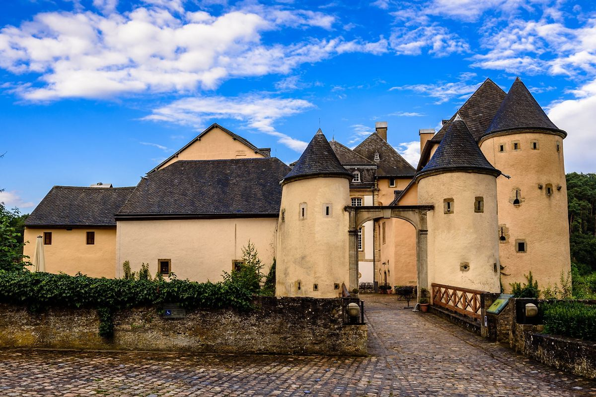 The Bourglinster castle houses two restaurants Photo: Shutterstock