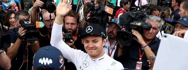 Nico Rosberg consagrou-se campeão do mundo de Fórmula 1