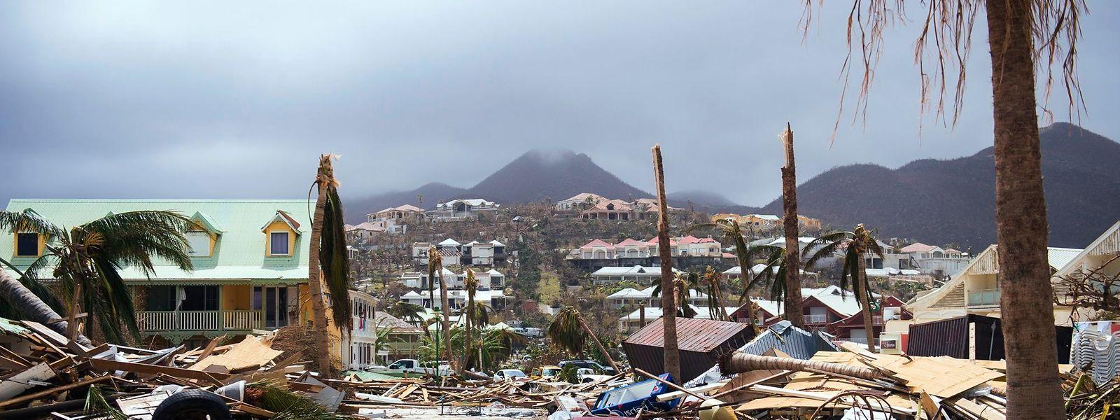Auf Saint-Martin belaufen sich die Schäden ersten Schätzungen zufolge auf über 200 Millionen Euro.