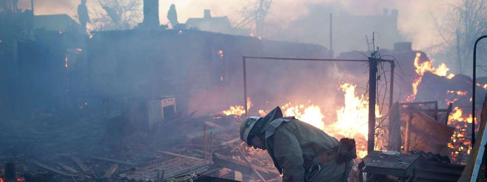 Immerv wieder flammen Gefechte im Krisengebiet auf.