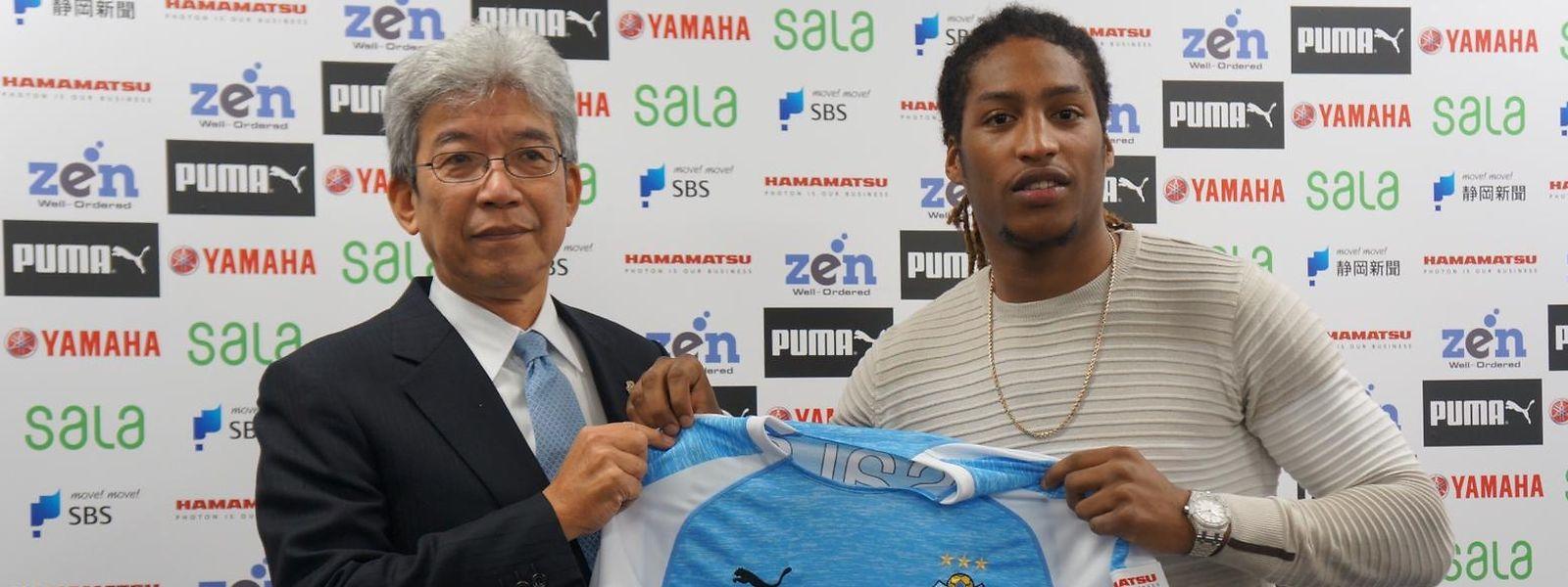 Gerson Rodrigues wurde am Mittwoch vorgestellt.