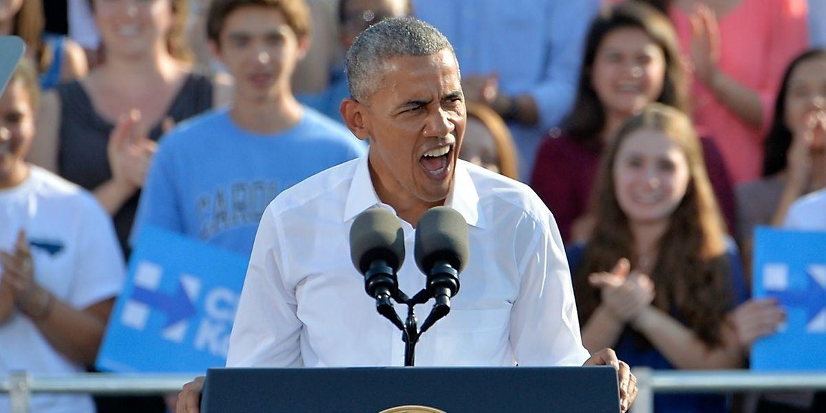 Le président a soutenu la candidate démocrate en Caroline du Nord