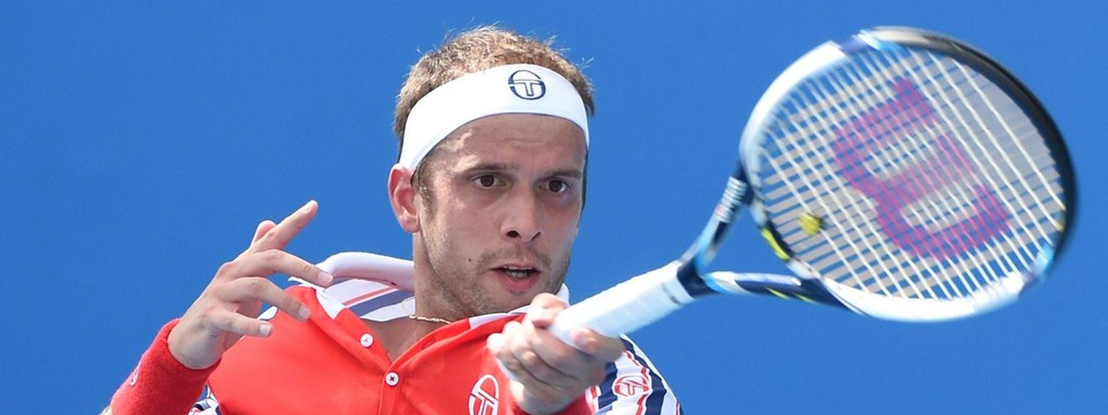 Gilles Muller steht im Viertelfinale.