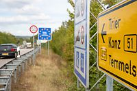 Politik, Grenze Luxembourg Deutschland Grevenmacher, Foto: Chris Karaba/Luxemburger Wort