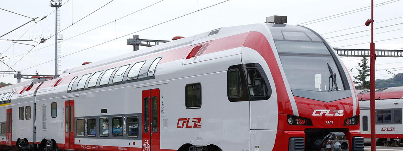"""Ab dem 14. Dezember kommen acht neue Doppelstock-Triebwagen, die so genannten """"Kiss""""-Züge, zum Einsatz. Sie fahren stündlich nach Koblenz und zurück."""