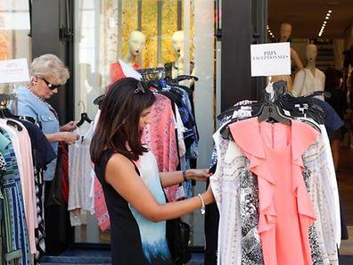 Auf 60 Prozent aller Stände werden Kleidungsartikel verkauft.