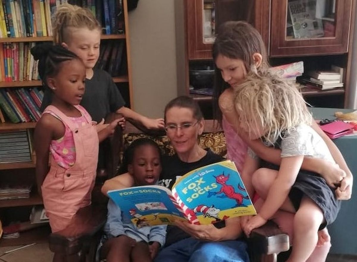 Children know when they are ready to learn reading or maths says Je'Anna Clements (pictured reading) Photo: Riverstone Village