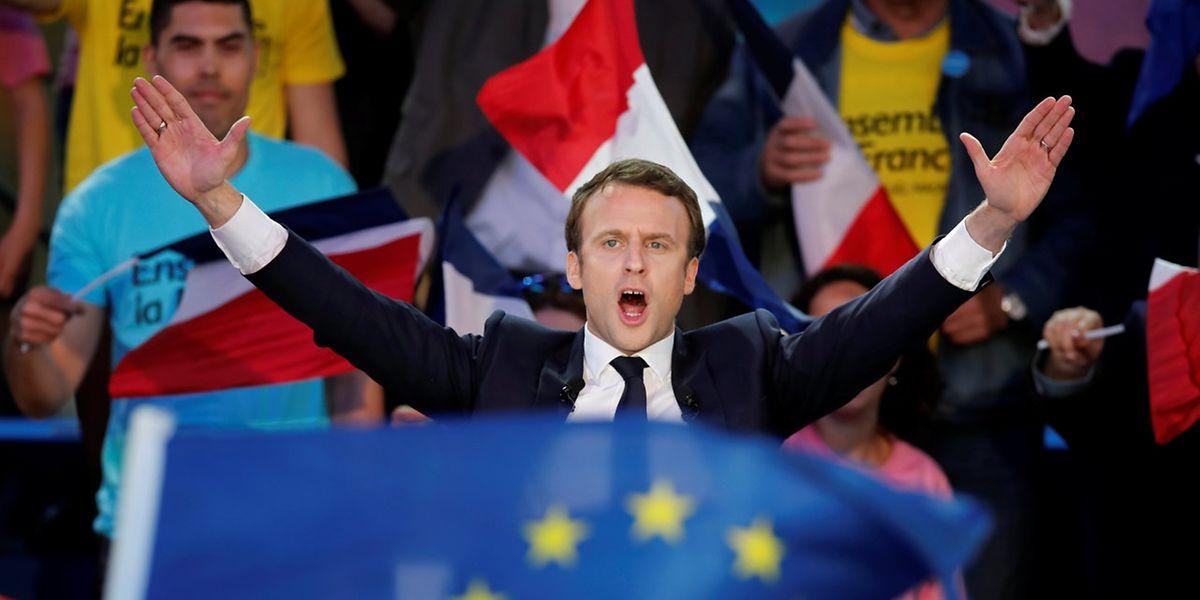 Emmanuel Macron ganha presidenciais em França