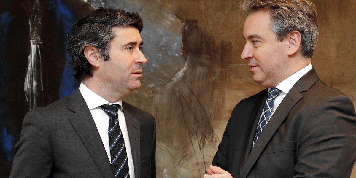 O secretário de Estado esteve reunido durante mais de uma hora com o ministro da Educação do Luxemburgo