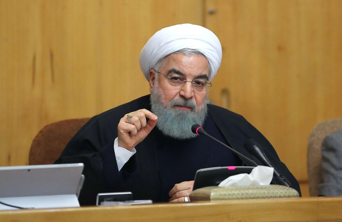 Präsident Hassan Ruhani gilt als gemäßigt.