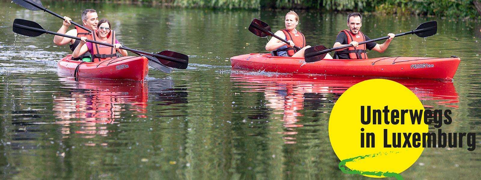 Kanufahrten ab Diekirch gelten für Wassersportbegeisterte als beliebtes Ausflugziel.