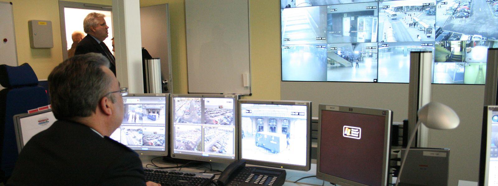 Die Visupol-Kameras werden von speziell ausgebildeten Beamten bedient.