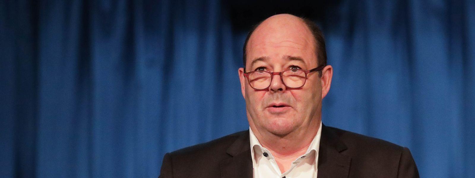 Claude Haagen, o atual presidente dos socialistas luxemburgueses.