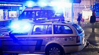 Die Polizei nahm den Brandstifter nach einer Fahndung fest.
