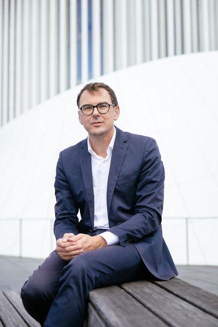 Stephan Gehmacher, le directeur de la Philharmonie.