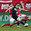 Andreas Voglsammer trifft nicht nur für Bielefeld, er läuft auch bis zum Umfallen.