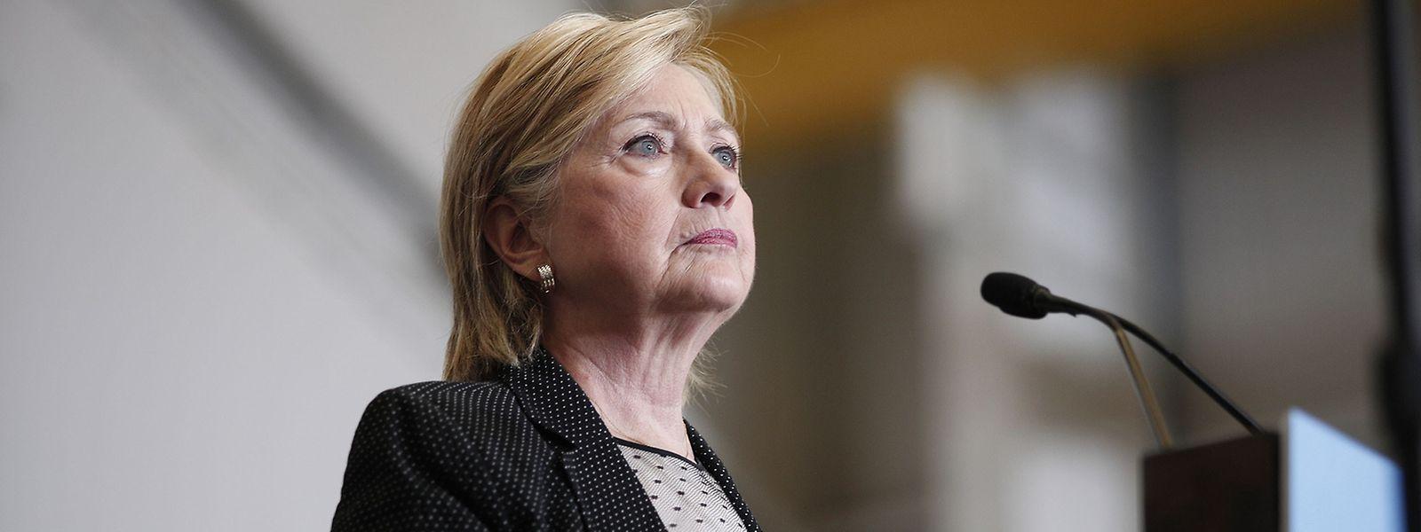 Am Donnerstag stellte Hillary Clinton auch ihren Wirtschaftsplan vor.