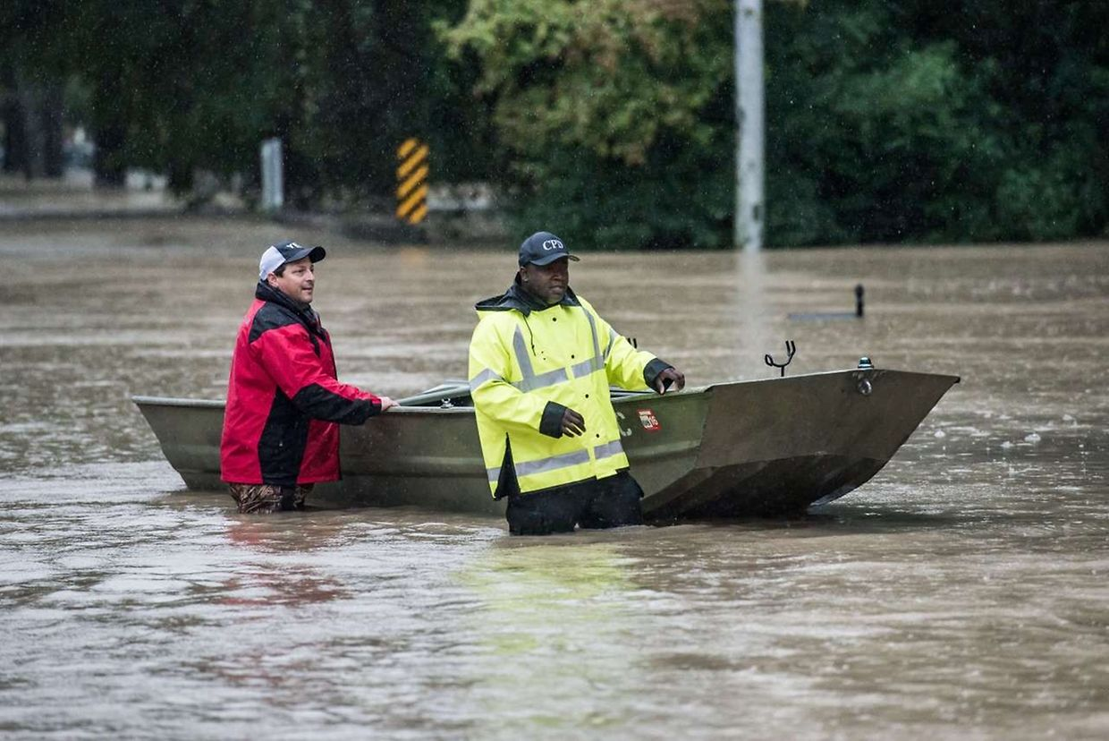 """""""Land unter"""" auch in Columbia, South Carolina."""