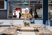 19.10. Wi / IKEA Sterpenich / ITV Direktor Christophe Adrien , Magasin IKEA / Chantier Retail Park IKEA / Foto:Guy Jallay