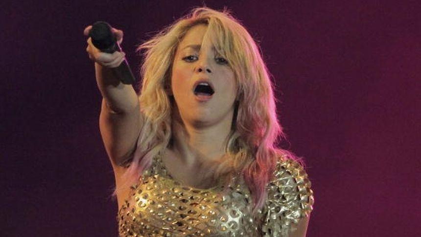 Shakira en concert au Centre Bell en 2018