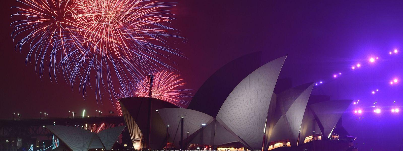 L'emblématique feu d'artifice tiré depuis l'Opéra de Sydney a soulevé la polémique cette année.