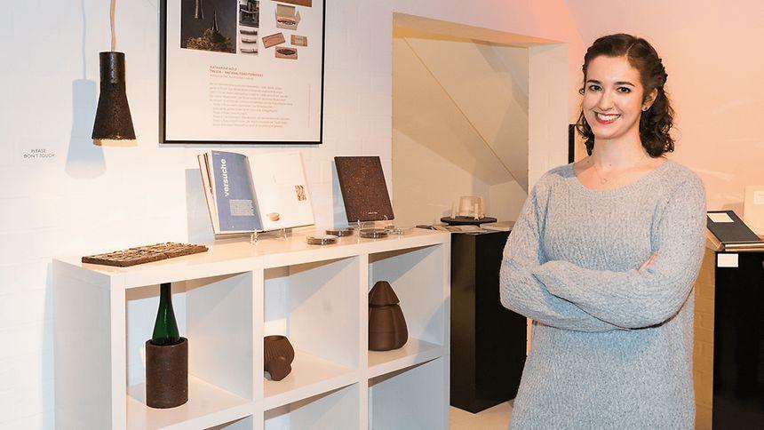 """Katharina Hölz erregt mit ihren """"Tresta""""-Produkten Aufsehen."""