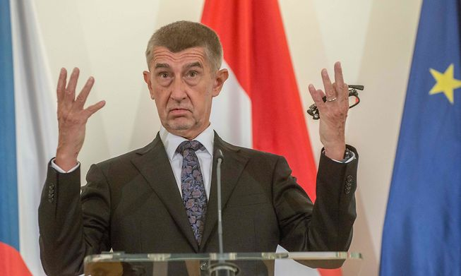 Czech Prime Minister Andrej Babis, whose total grip on power appears to be coming to an end following a shock election defeat