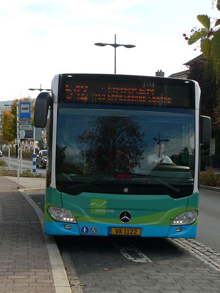 Die Nordstad-Busse sollen als Teil des RGTR-Netzes auch die neu entstehende Industriezone am Fridhaff möglichst gut mit dem Ettelbrücker Bahnhof und dem Zentrum von Diekirch verbinden.