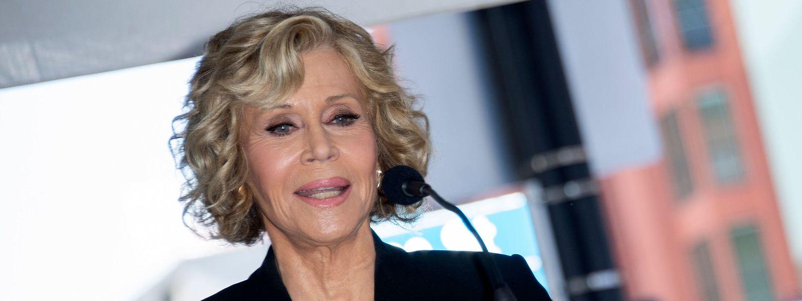 Schauspielerin Jane Fonda ist mittlerweile 81 Jahre alt.