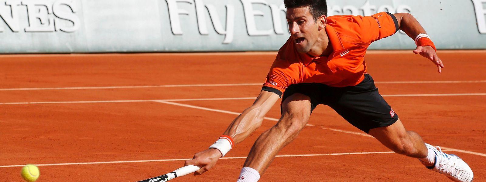 Novak Djokovic könnte sich den ersten Titel in Paris sichern.