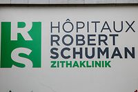 19.10 Zitha Klinik / Hopitaux Robert Schuman foto: Guy Jallay
