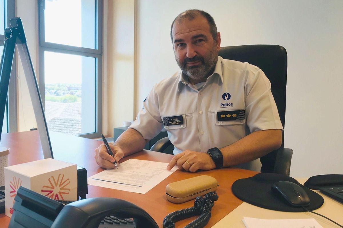Pour Michael Collini, c'est toute la zone de police du Sud-Luxembourg qui «est concernée de manière transversale par l'apprentissage du luxembourgeois»