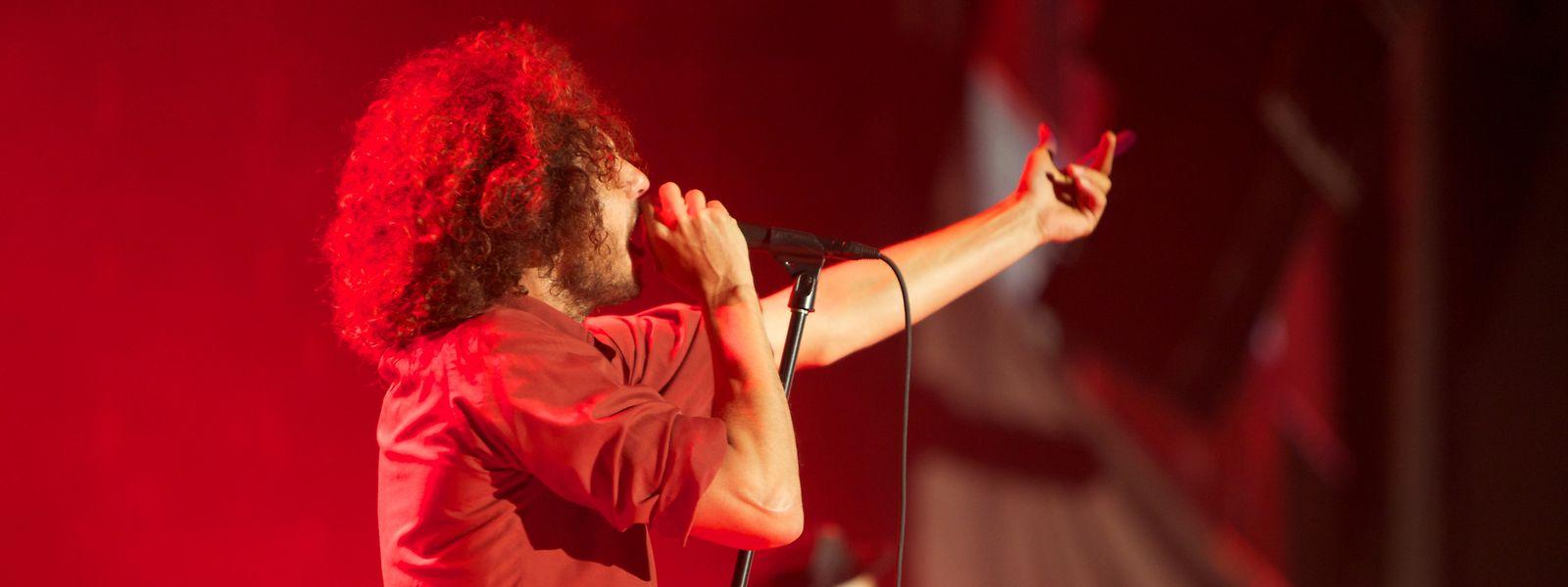 """Rock am Ring, 2010: """"Rage Against The Machine"""" bei einem ihrer letzten Auftritte."""