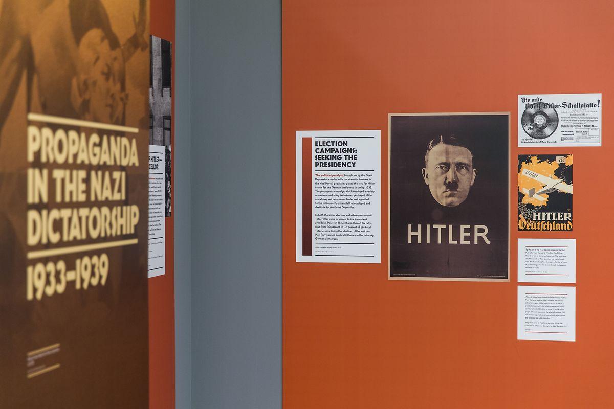 "Exposition ""State of deception, the power of Nazi Propaganda"", à Neimënster jusqu'au 17 mars 2019"