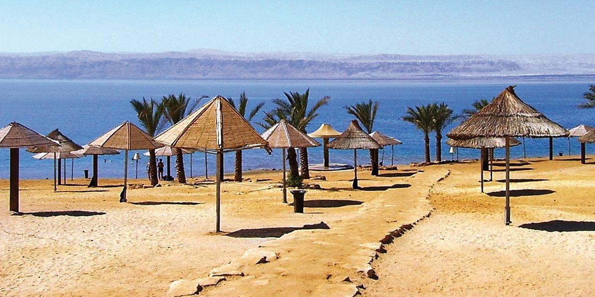 Ein heißer Wüstenwind trieb die Temperaturen nicht nur in Sodom in extrem hohe Bereiche.