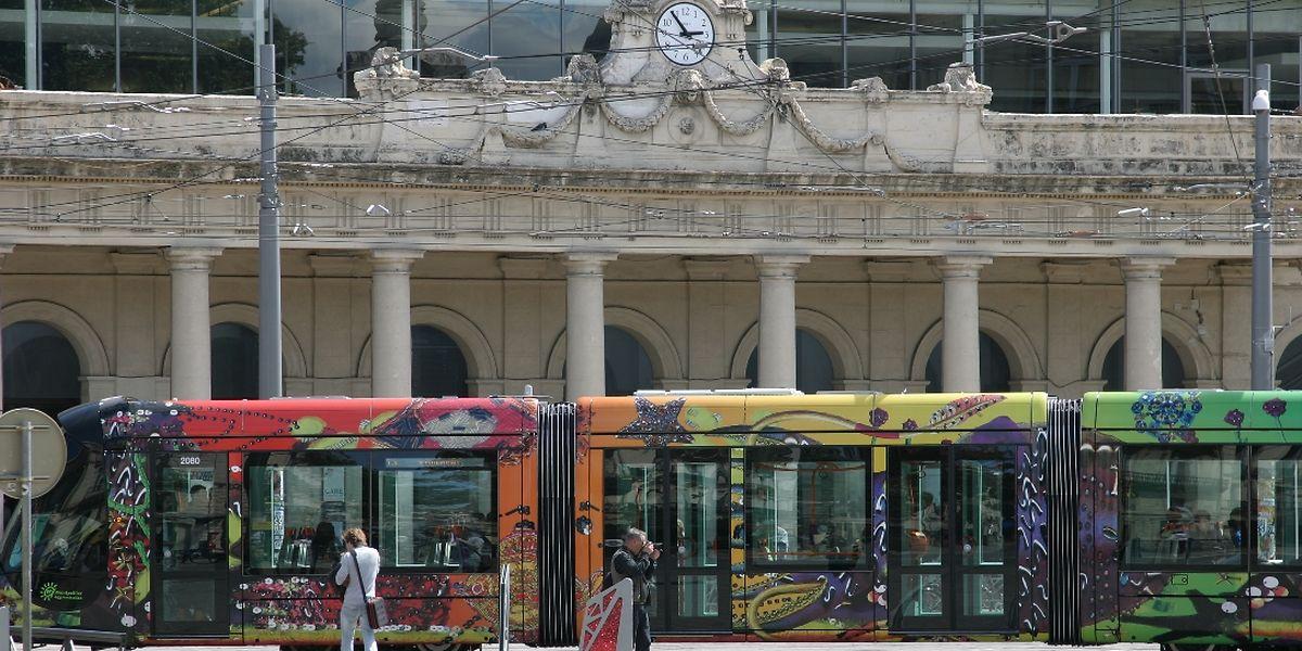 """A Montpellier, les lignes 3 et 4 ont été mises en service le 7 avril. A Luxembourg, les voitures bénéficieront bien d' """"un design luxembourgeois"""", assure le responsable voie ferrée chez LuxTram."""