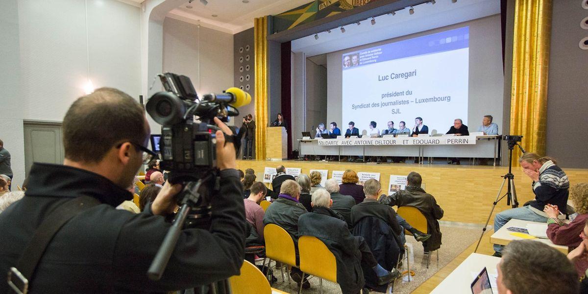 Les médias locaux et internationaux suivent de près le procès LuxLeaks. Avant-goût ce lundi soir.