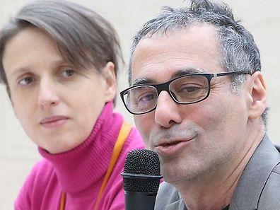 Enrico Lunghi (2.v.r.) stellte mit seinem Team das Programm des Mudam 2017 vor.