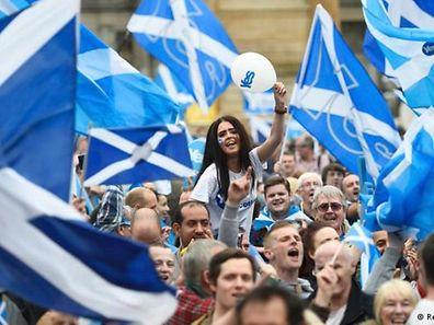Se a Escócia ficar independente, deixará de fazer parte da UE e deverá passar por todo o processo de adesão