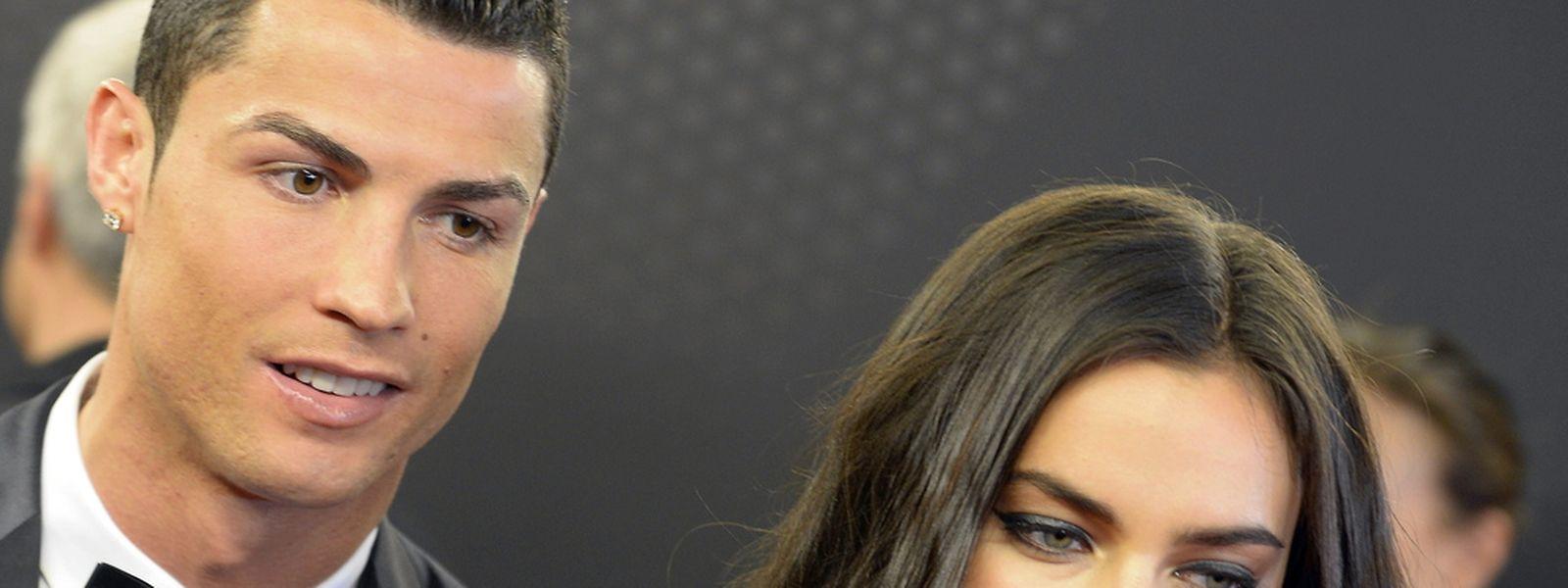 Irina Shayk acompanhou Cristiano Ronaldo na Gala