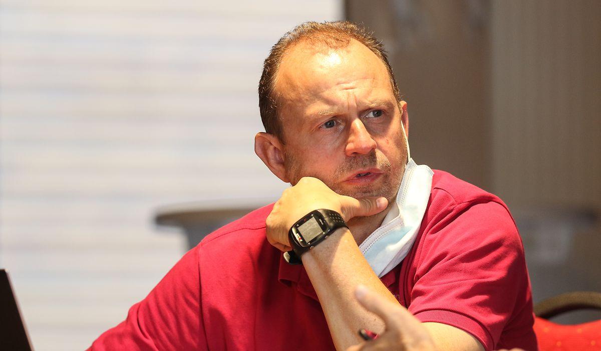 Pascal Welter. le directeur sportif du Fola n'a pas chômé ces dernières semaines