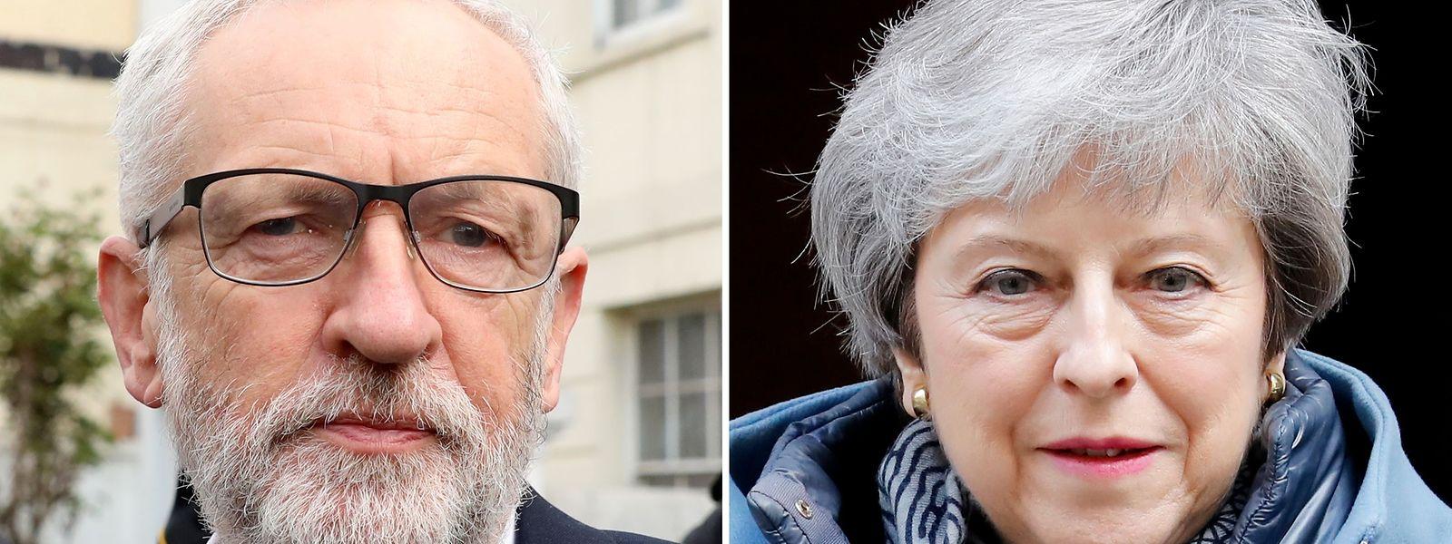 Etwa 80 Labour-Abgeordnete forderten ihren Chef Jeremy Corbyn in einem Brief auf, ein zweites Referendum zu garantieren, falls ein Kompromiss mit Theresa May doch noch zustandekommen sollte.