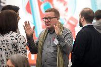 """Bei den """"Open Market Days"""" von Esch 2022 hatte der künstlerische Leiter  Christian Mosar seinen letzten Auftritt."""