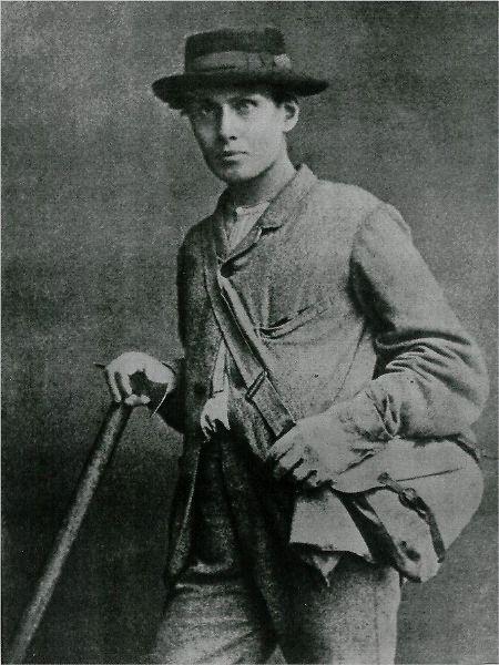 Moderne Bergsteigerausrüstungen sehen anders aus: Edward Whymper und seine Mannschaft mussten wohl eher auf günstiges Wetter vertrauen.