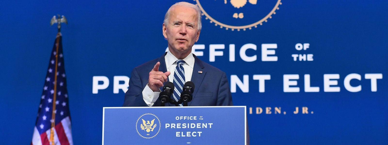 Wahlgewinner Joe Biden hält sich bislang bedeckt und betont, er werde den Präsidenten in jedem Fall am 20. Januar ablösen.