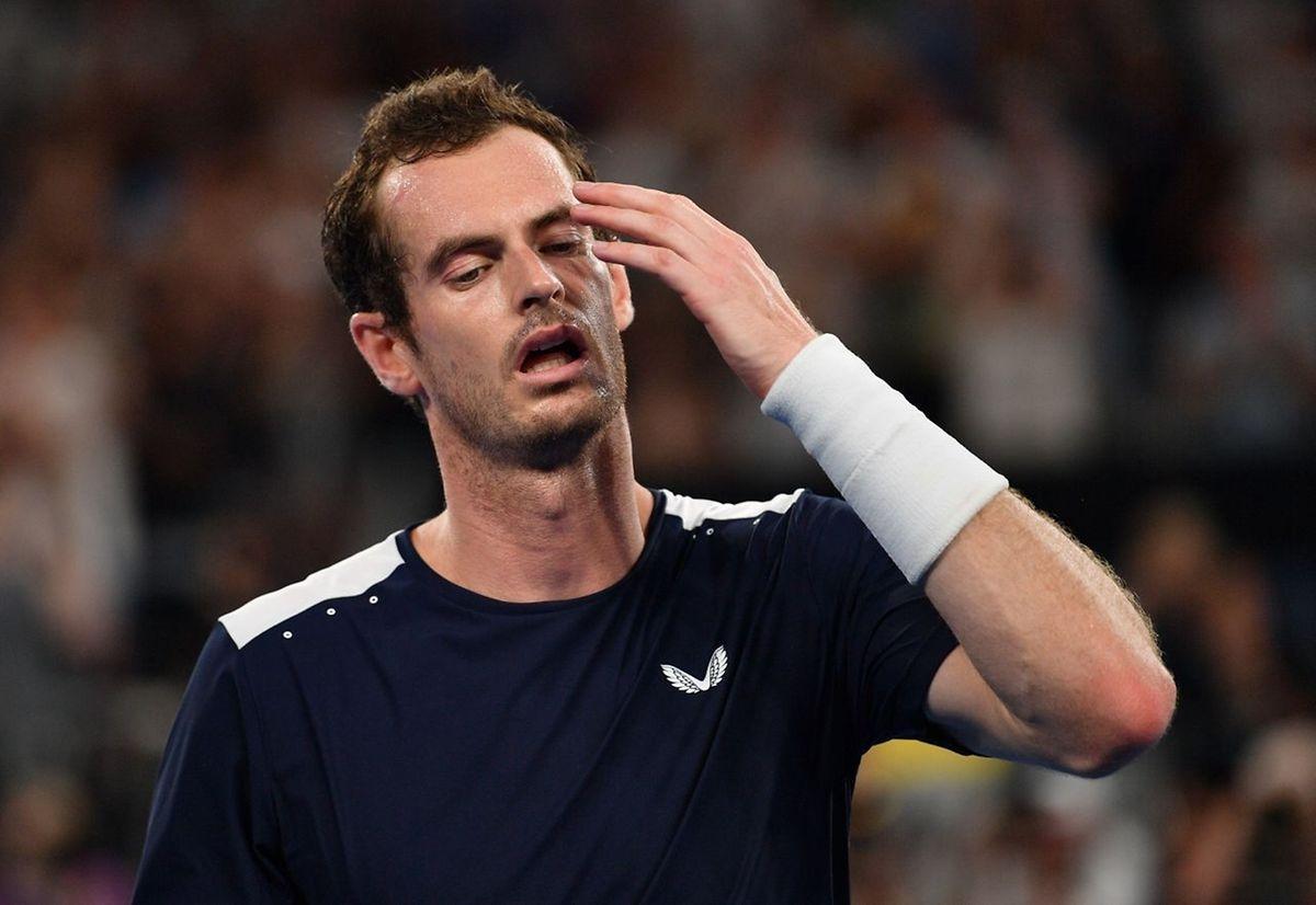 Andy Murray a disputé ce lundi son dernier match sur les courts de Melbourne.
