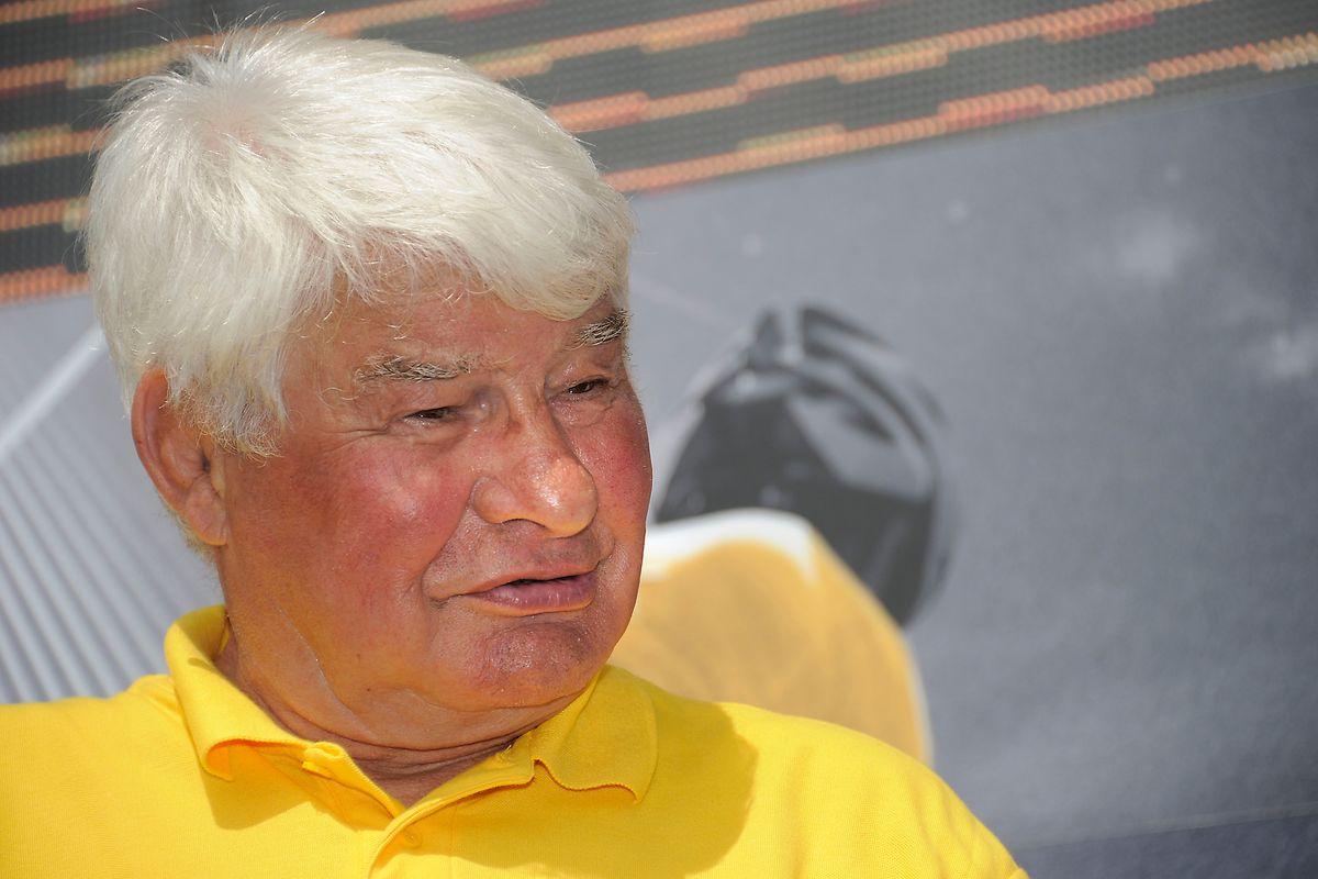Raymond Poulidor war während vielen Jahren Teil der Tour-de-France-Werbekarawane.