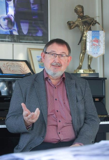 Paul Scholer, Direktor der Ugda-Musikschule